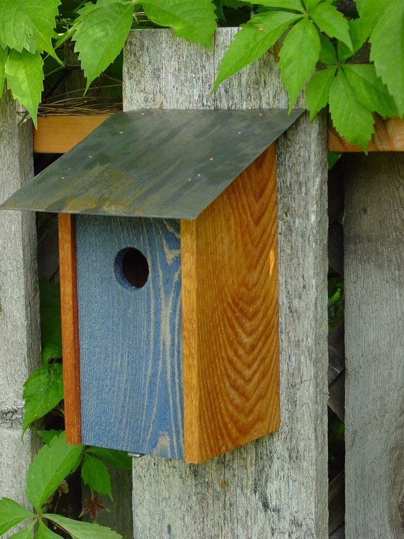 Bluebird House in Atlantic Blue