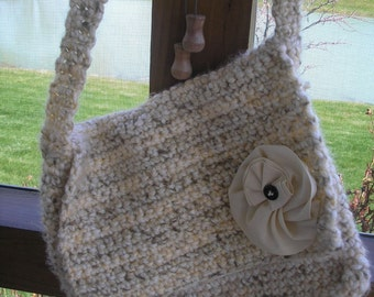 Crocheted Purse Handmade By Me