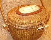 Nantucket Purse Lightship Basket Collectible Authentic