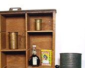 Vintage Copper Measures Rustic Pair 1930s Measuring Cups