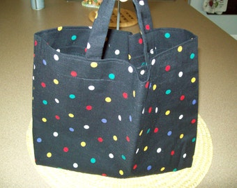 Toddler Tote Bag Lined Preschool Daycare Library