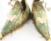 Fairy Shoes - Green belong to Saybrook Sage Faerie