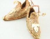Fairy Shoes Beige Gold belong to Moth CornGlitter Fairy