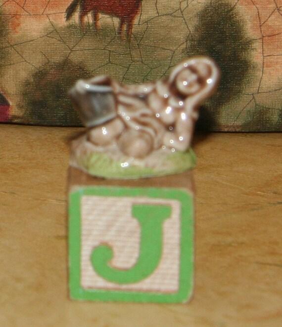 Wade & Company of England Red Rose Tea Nursery Rhymes Jill of Jack and Jill