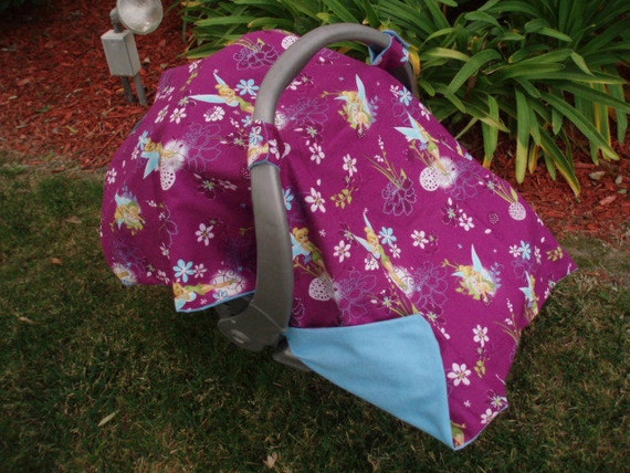Car Seat Canopy -  Tinkerbell