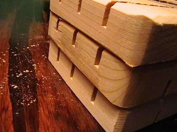6 BLOOPER Cedar Natural Wood Spa Soap Dish Grab Bag Seconds