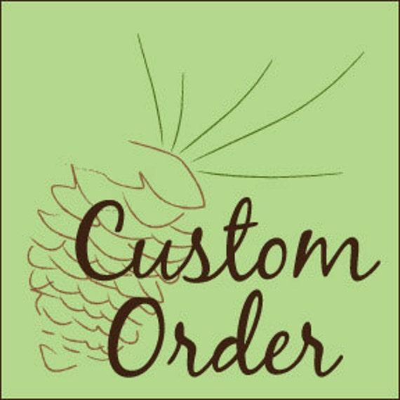 Custom Order BARBARA 175 Natural Wood BLANK Gift Tags &