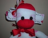 Rosie the sock monkey