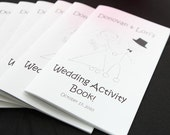 Printable Personalized Wedding Activity & Coloring Book