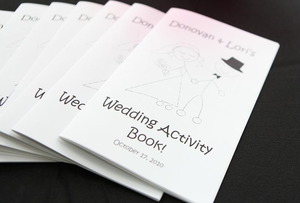 Printable Personalized Wedding Activity Amp Coloring Book