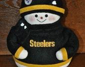 Pittsburgh Steelers Snowman