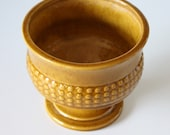 Vintage Yellow Haeger Ceramic Pot Number 136 on Etsy
