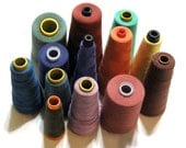 Assorted Spools of Thread - Sergers and Sewing Machines - Mix - Assortment