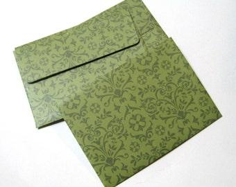 "Handmade A1 (4-bar) Envelopes - 6 Count - Sticker Seal - 5.125"" x 3.625"""