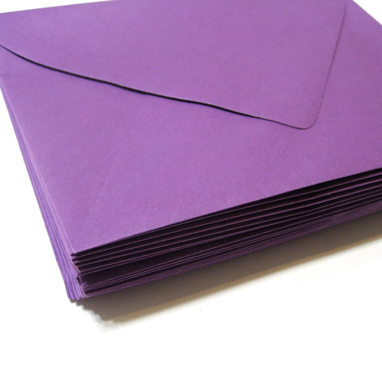 a7 envelopes x plum purple 20