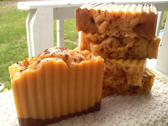 Perfect Pumpkin Soap Slice - PRE-SALES