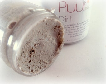 Dirt - VEGAN Body Scrub with Sea Clay, Brazil Nut Butter and Cocoa Butter 2 oz