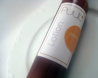 VEGAN hemp lotion Patchouli scented body lotion hippie scent body cream 8oz paraben free body butter