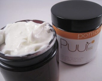 Sample Body Butter 1 oz - Orange Clove Body Butter - Pomander - Horsetail Butter Thick Creamy Lotion - Trial Size
