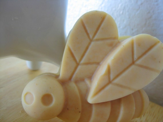 Buttered Up set of two All-Natural Buttermilk and Shea Butter Soaps with Sweet Orange essential oil