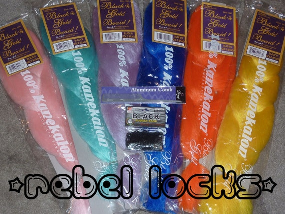12 Bags of Kanekalon Jumbo Braid - High Quality - Dreads, Braids, Falls, Extensions