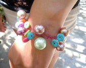 Party in my Cabana with this fun Hand Knitted Bracelet