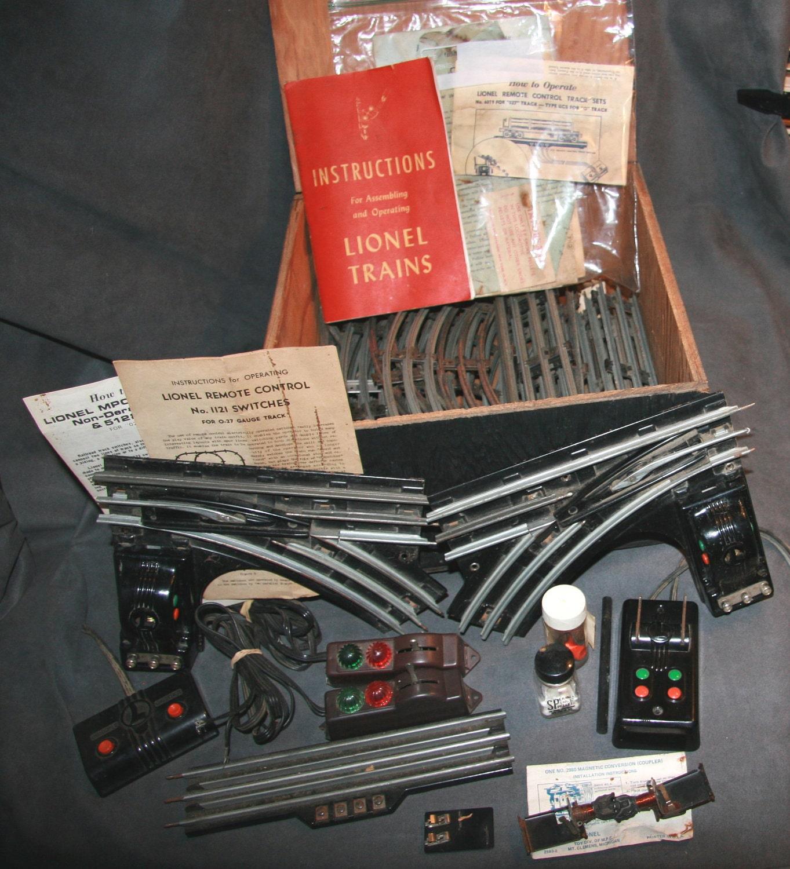 Model Train Supplies : S lionel model railroad train accessories o scale big box