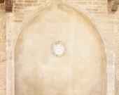 Prayer Wall in San gimignano Tuscany Italy Fine Art 8x12