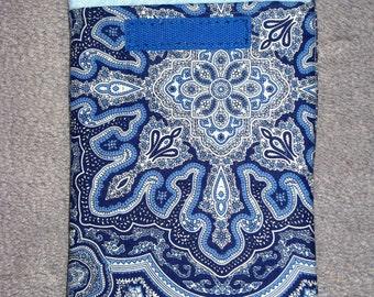 "SALE - Beautiful Designer Kindle 3 Cover ""Blue Paisley"""