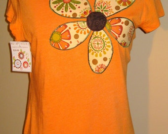 SALE - Fitted Women's Applique T-Shirt