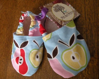 Apple & Pears Baby / Toddler Shoes Leather Soled Slippers