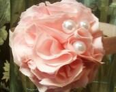 Reserved for LaurenRicardo - Rosette Flower Headband
