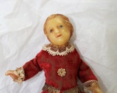 Antique 1800s or Older Religious Creche Wax Doll Very Rare