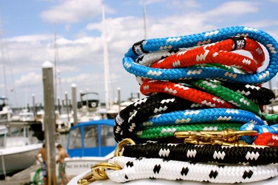 Nautical Dog Leashes - The Fair Lead (Calypso)