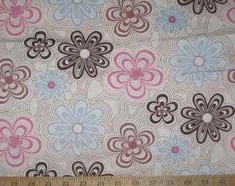 Robert Kaufman Kitchy Kitchen Floral fabric 1 yard