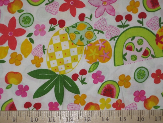 Fruit Salad by Alexander Henry 1 yard 3""