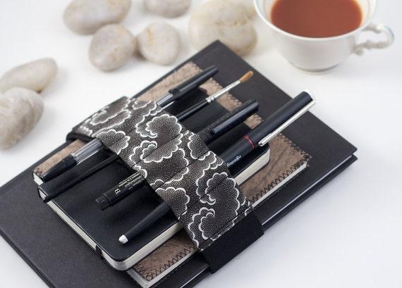 Adjustable Bandolier // update your pencil case // black tempest