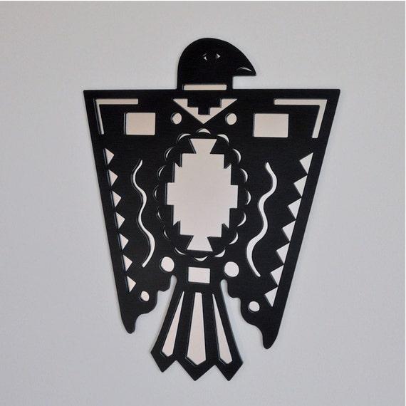 Native American Thunderbird Symbols Art The Menominee Indian Tribes