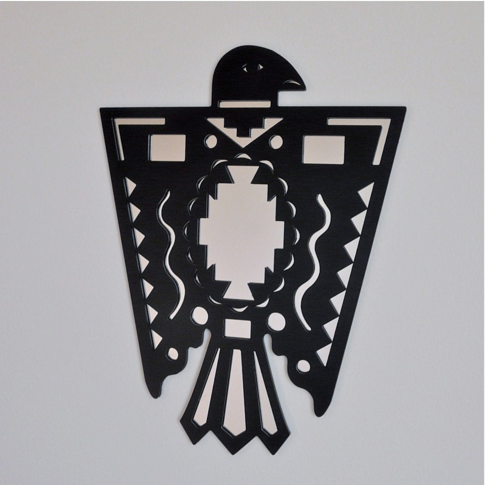 Native American Thunderbird Mirror On Clearance by UrbanAnalog