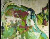 Bedouin Wedding (Acrylic on Canvas)