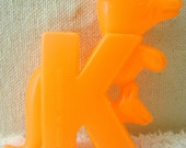 K is for Kangaroo - Hollow Plastic Letter
