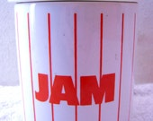 Hornsea Jam Pot - Hornsea Red Stripe - 50% Off Sale