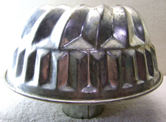metal jelly mould or jello mold kaiser west germany