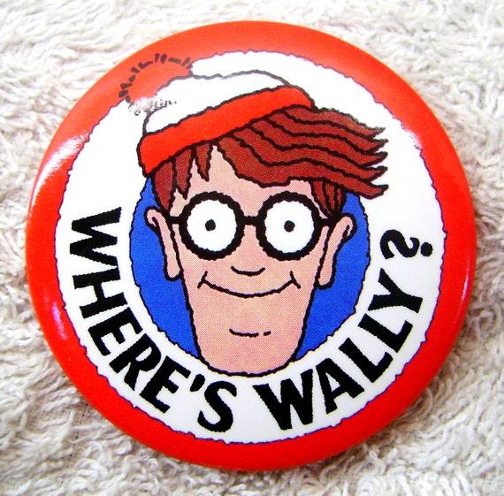 Where's Wally Badge