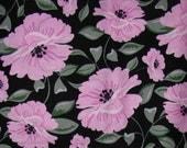 Fabric - Jardine by BJ Lantz  - PATT  22070J - Black - Flowers