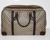 Gucci Softsided Vintage Travel Luggage