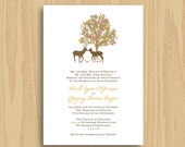 Custom Wedding Invitation, Save the Date, Bridal Shower, Rehearsal Dinner, RSVP - Colorfully Organic - Paper or Digital Package