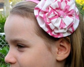The Uptown Girl - Fabric Floral Headband