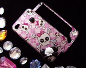 """iPhone 4 """"PINK to the BONE""""   -  2-Sided Case"""