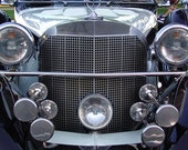 Vintage Auto - Elegant Classic Excalibur - Chrome - 5x7 Giclee Print